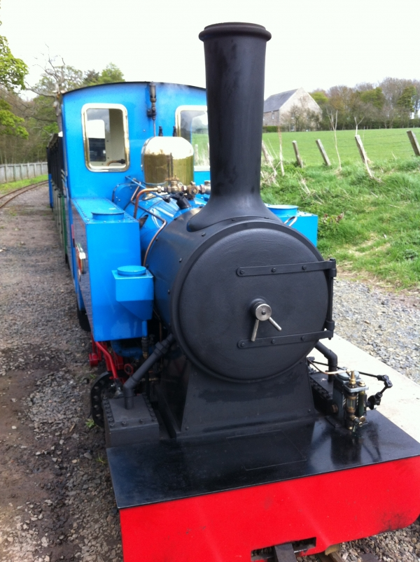 Bunty's boiler is also one of Harry's, was orignally bound for 7 1/4 Garratt