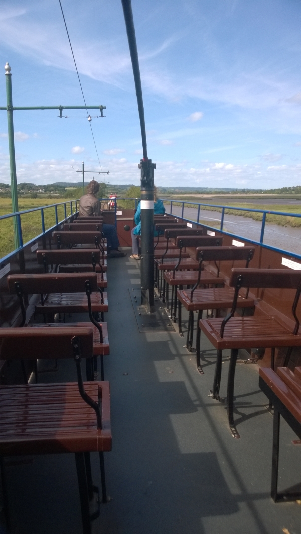 Not 7 1/4, these are top deck seats at Seaton, but might give some ideas. I do have a tram planned, but it is a year or two away.