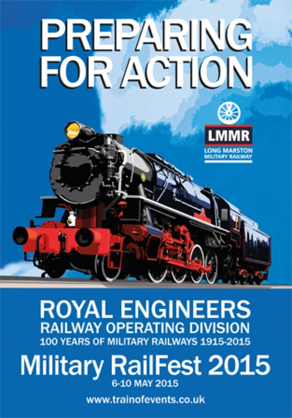 Military Railfest 2015 - 150 years of RE Railway Operating Division