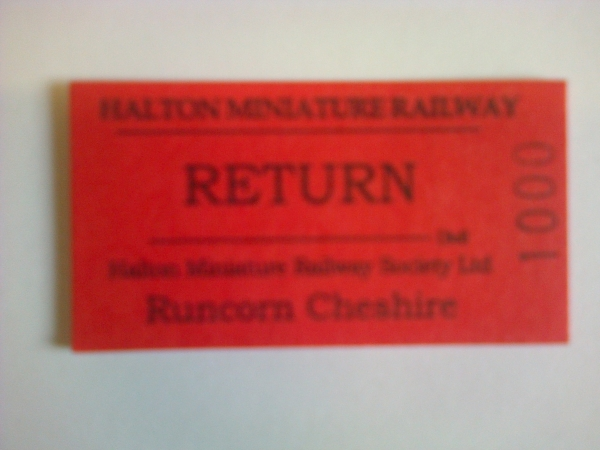 Just to update, we are now using Edmondson card tickets from Peter Bell.