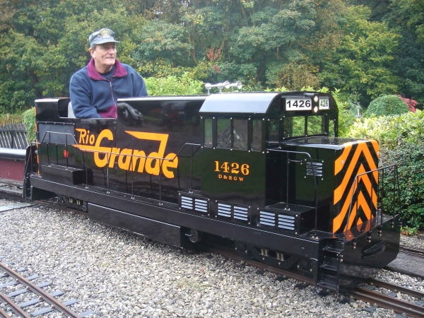 My battery electric loco, the Rio Grande 'U-Boat', is fitted with a superb sound system from Cromar White. It has a big choice of locos you can replicate. May I suggest you get in touch with Tony Martin at Cromar White?
