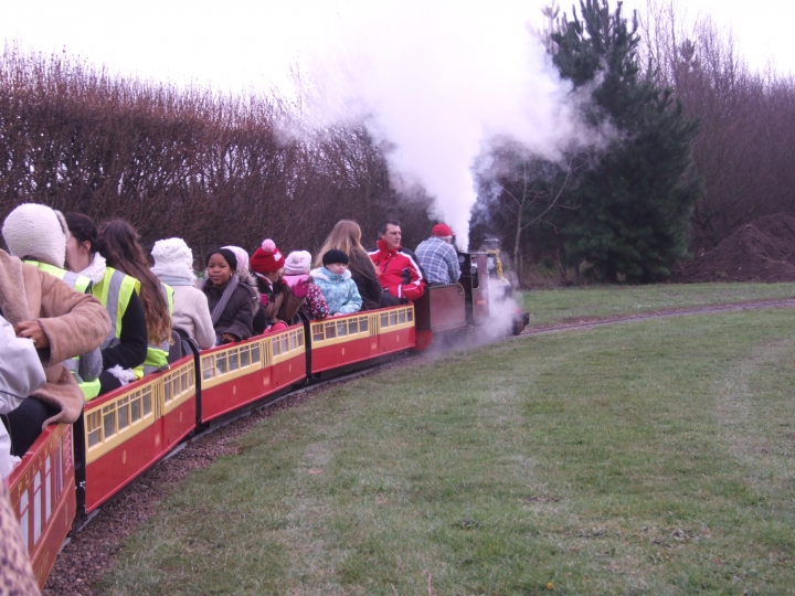 Santa Specials at Barnards Farm, Essex