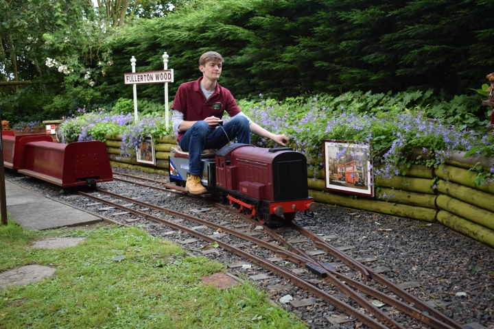 Little Orchard Railway Last Running Day