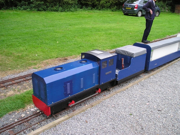 Audley End 7 1/4 railway