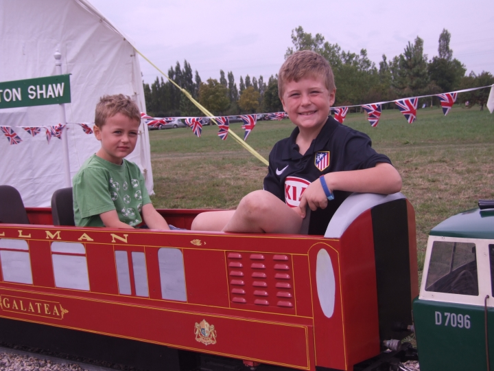 Barnards Railway opening day.