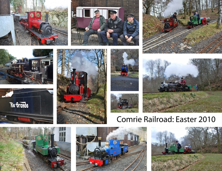 Comrie: Easter 2010