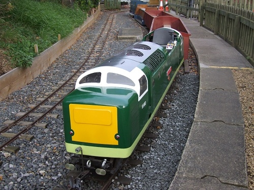 National Railway Museum Deltic