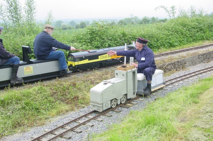 WW1  Trench loco swaps token with 21st Century Class