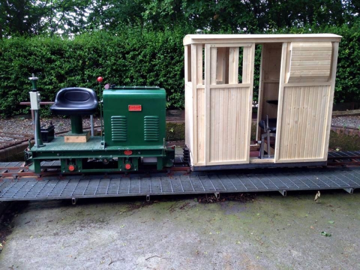 New guards van's first outing