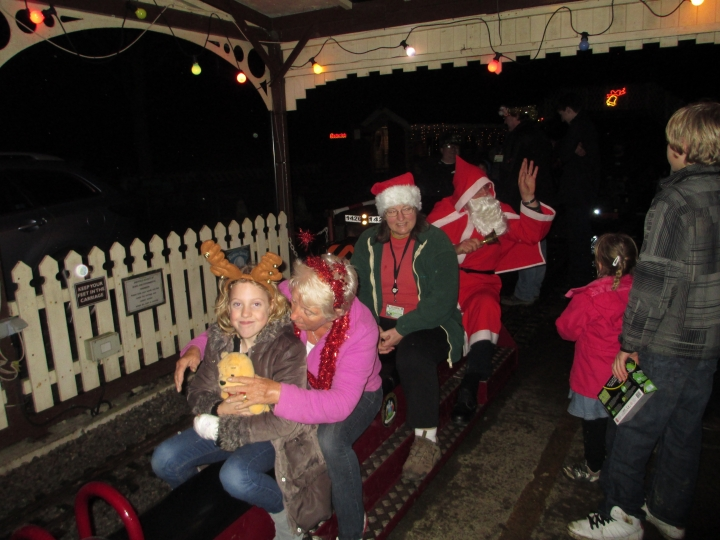 Abbeydale Miniature Railway Santa Specials