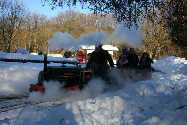 Santa Special at Abbeydale 2012