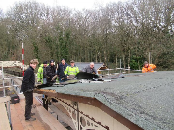 Abbeydale Station is getting a new roof.
