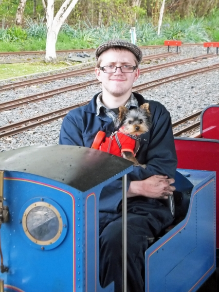 Izzy the Railway Dog