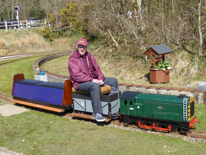 Bridgend Miniature Railway  Easter Monday 2015