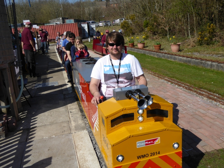 Bridgend miniature railway Easter 2015