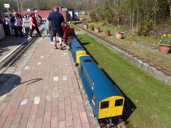 Easter Monday 2015 at Bridgend