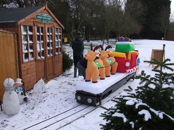High Legh Railway Santa Special