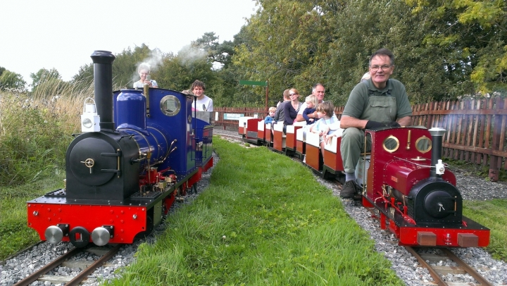 Two Visitors to Bentley Miniature Railway