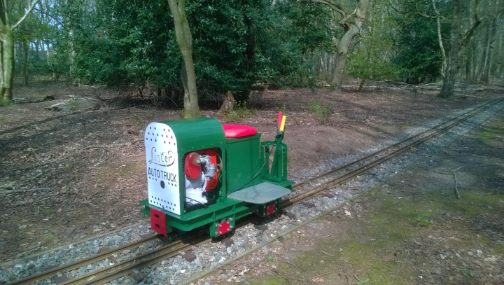 My latest loco SCAMP