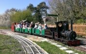 Black Swan at Bentley Miniature Railway - 6th May 2013