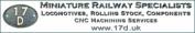 17D, Specialist Suppliers Of Miniature Railway Products
