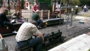 Bentley Railway locos visit Mizens