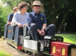 Barton House Railway outing to Parklands Minature Railway