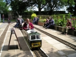 North Wilts model engineering society, Coate Water miniature railway